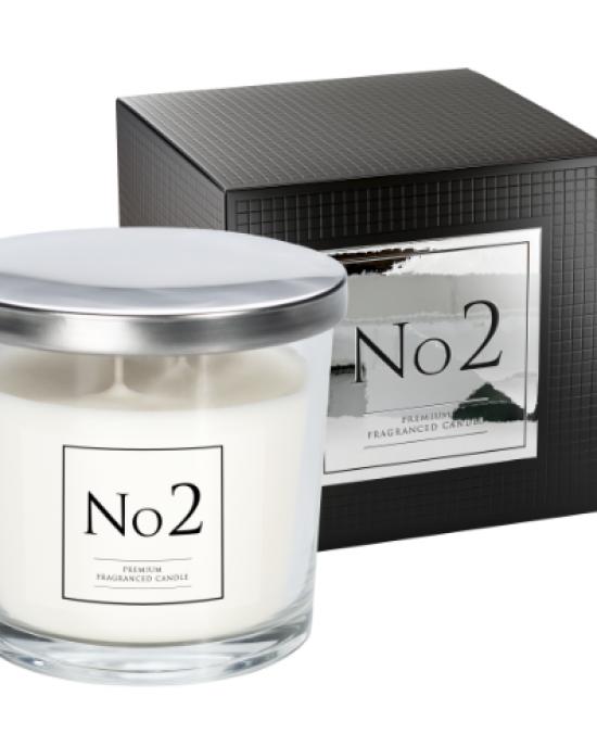 Dišeča sveča z dvema stenjema No2