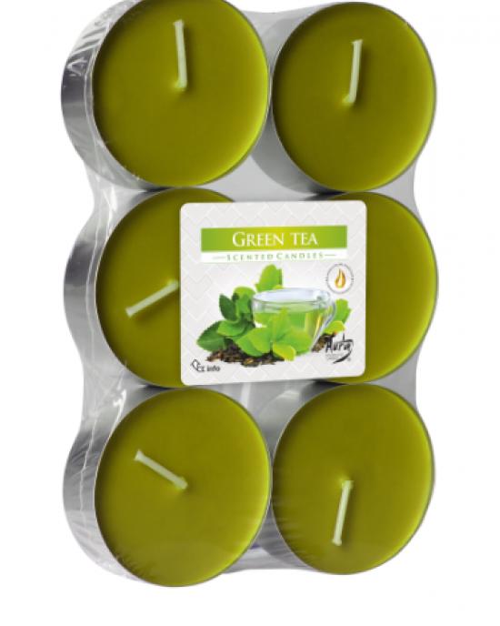 Dišeča čajna sveča 18 1 Zeleni čaj